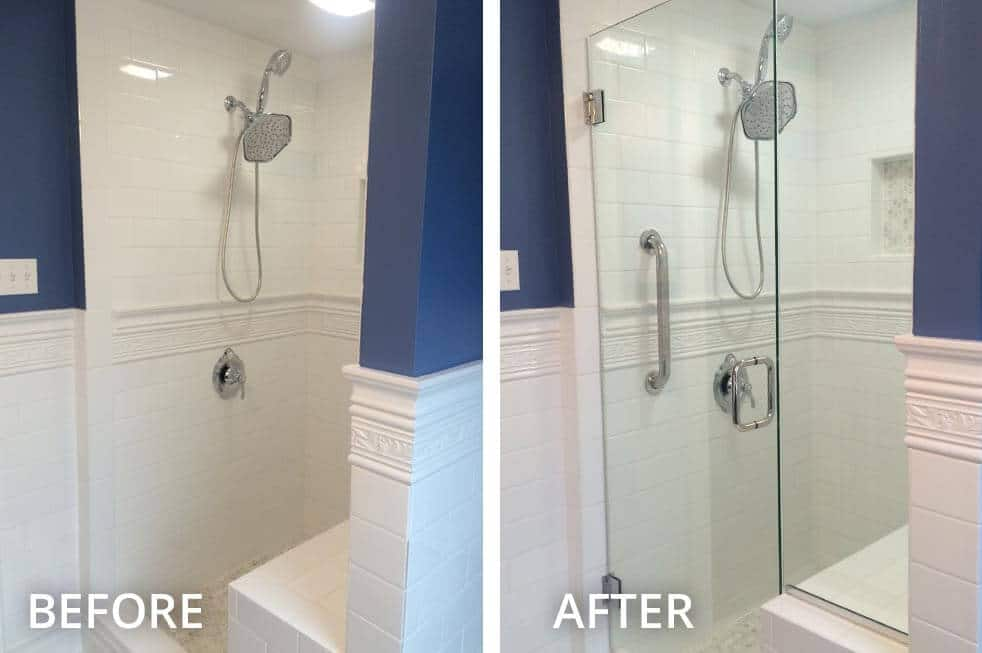decors ways your which shower glass by installation bath done be door could