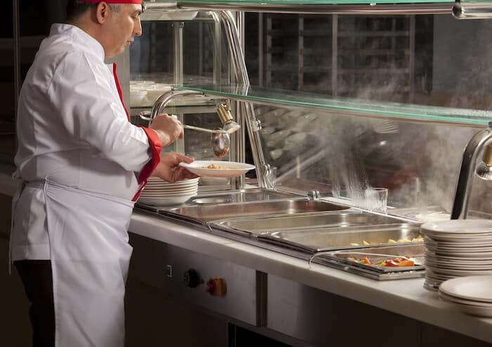 Glass barrier installation has been the norm in self-service food businesses for decades.